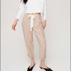 Wilfred allant pant size 4 with linen
